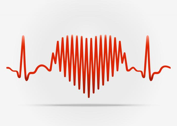 [Heart on an ECG]