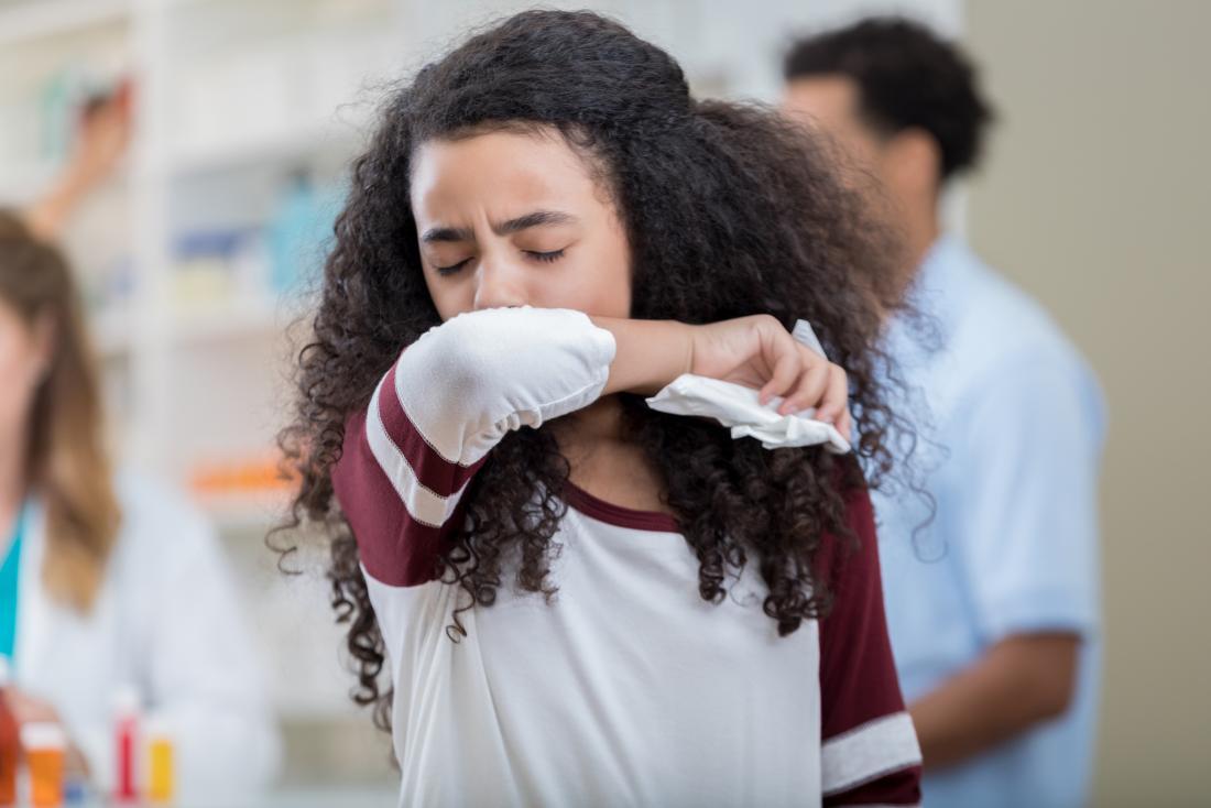 a persistent cough