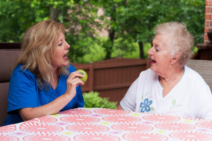 Aphasia After Therapy