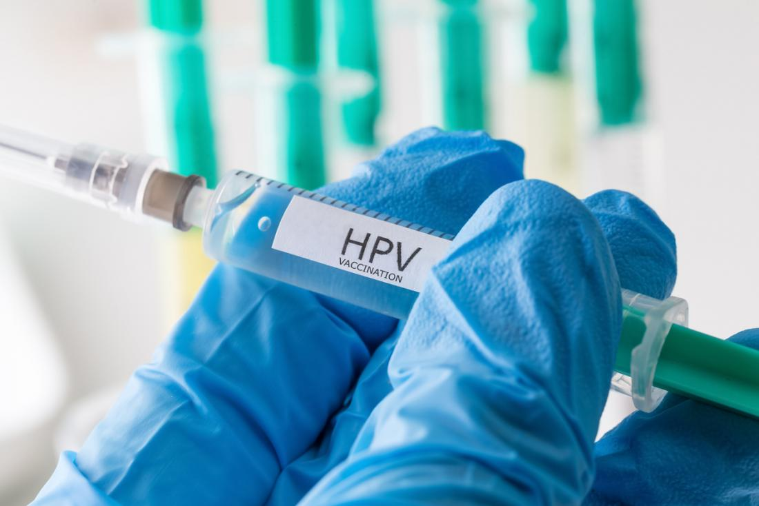 HPV vaccination hypodermic