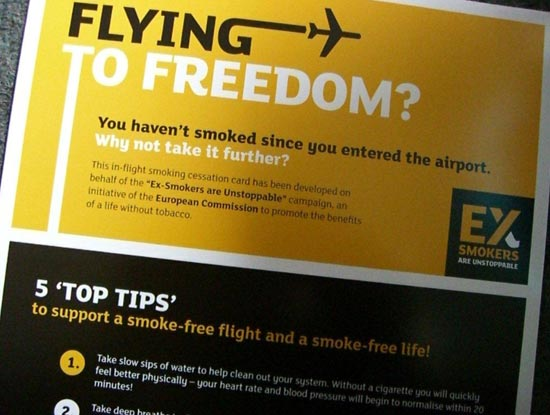Flying to freedom card