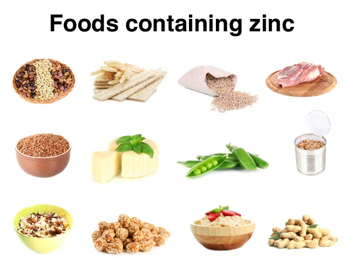 where to get zinc cfrom your diet
