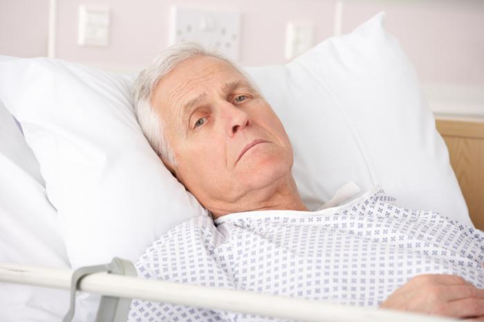 Prostate cancer treatment: 'no benefit for older patients with other