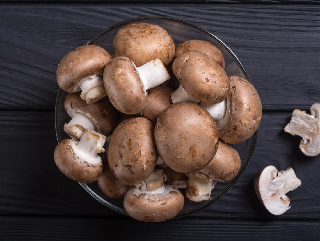 Mushrooms Nutritional Value And Health Benefits