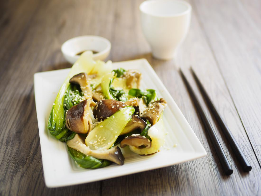 Bok choy is a tasty addition to stir fries and salads.