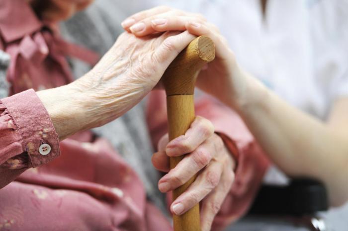 Nursing Home, Holding Hands