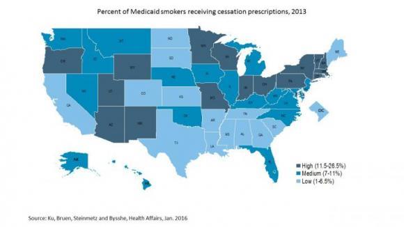 Smoking Cessation Map