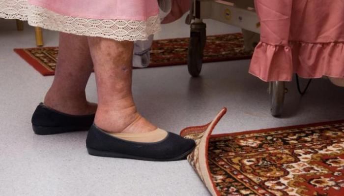 Slip on Carpet
