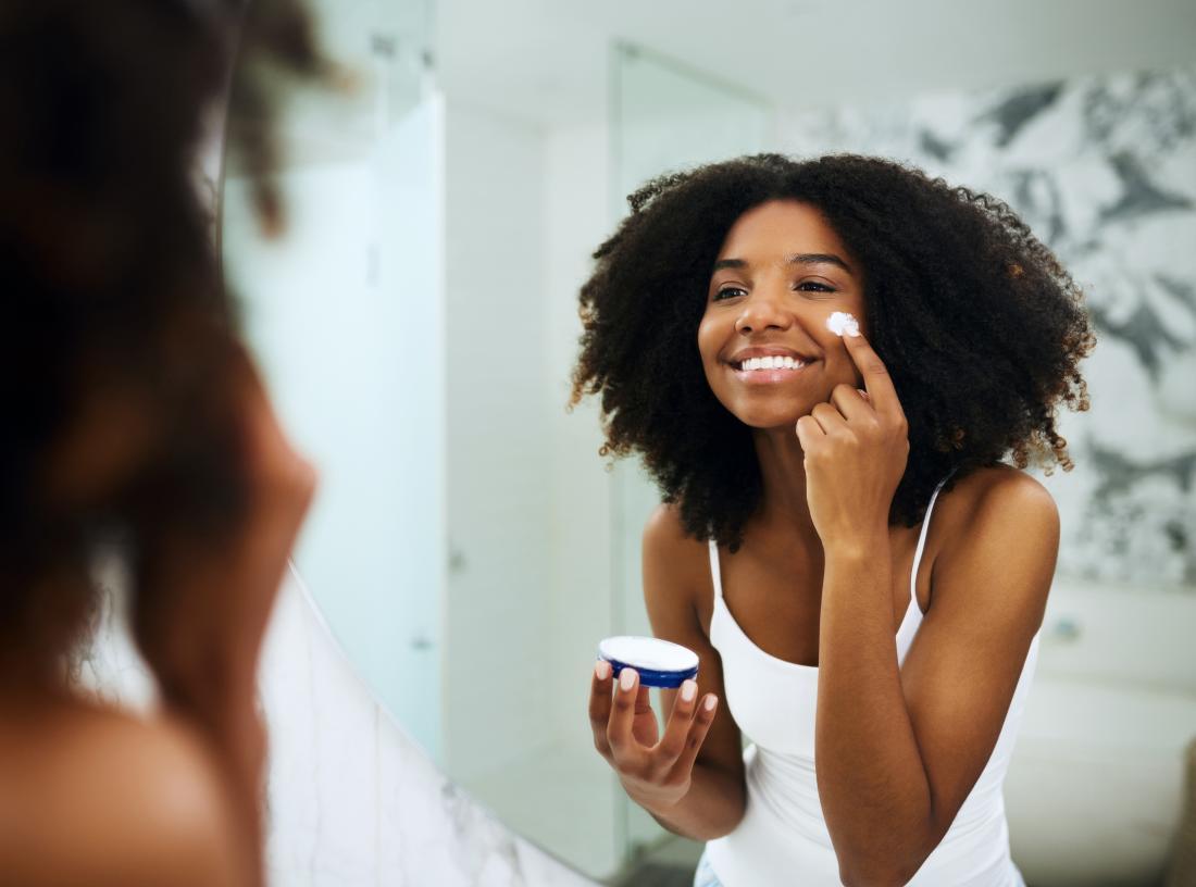 Image result for moisturizer application at home