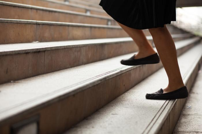 Swap caffeine for stair-walking to boost energy, motivation
