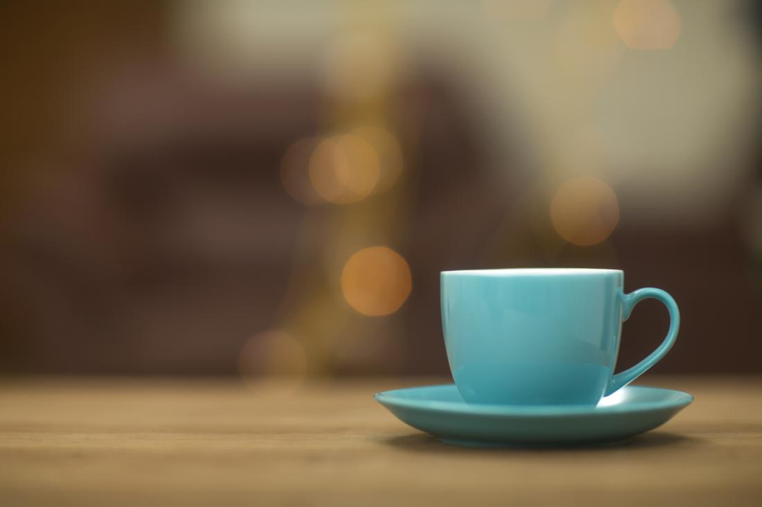 cup of hot coffee