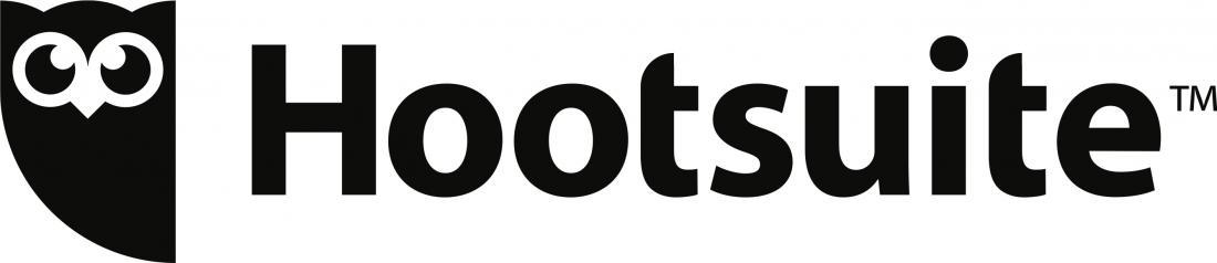 Hootsuite logo left