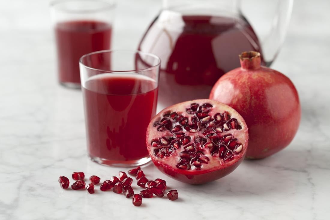 15 health benefits of pomegranate juice