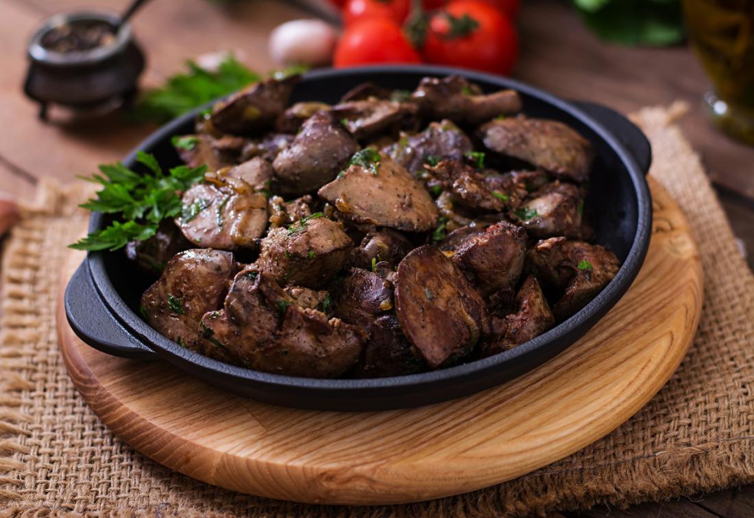 no meat diet liver