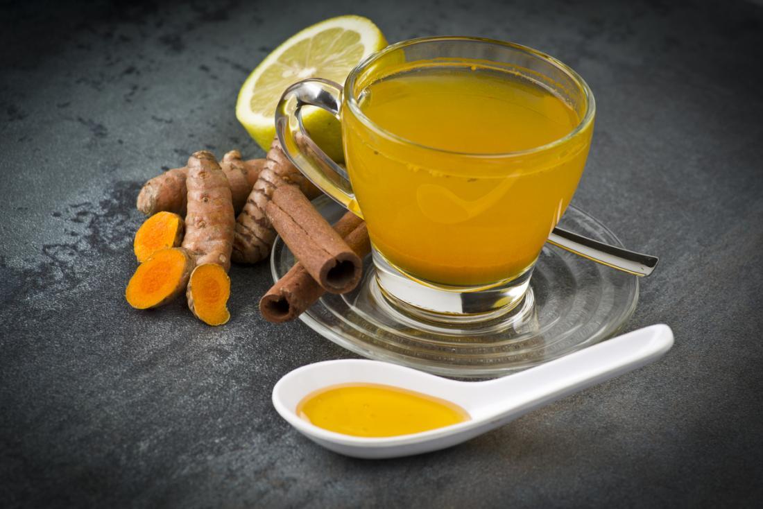 Nine health benefits of turmeric tea