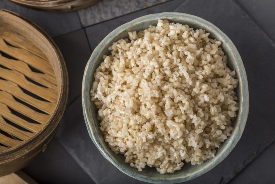 Brown rice vs  white rice: Which is most healthful?