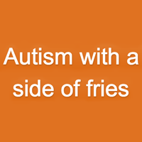 autism with a side of fries logo