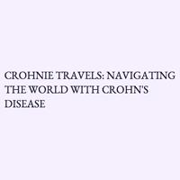 Crohnie Travels logo