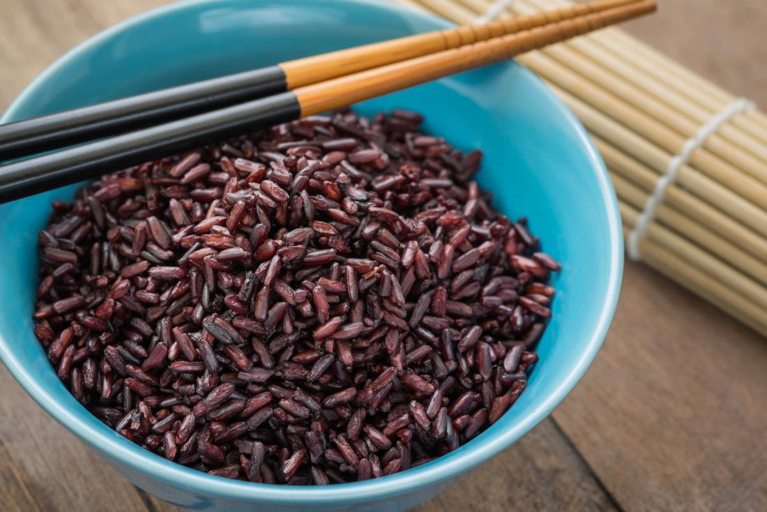 Purple rice: Health benefits, calories, and nutrition