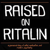 Raised on Ritalin logo