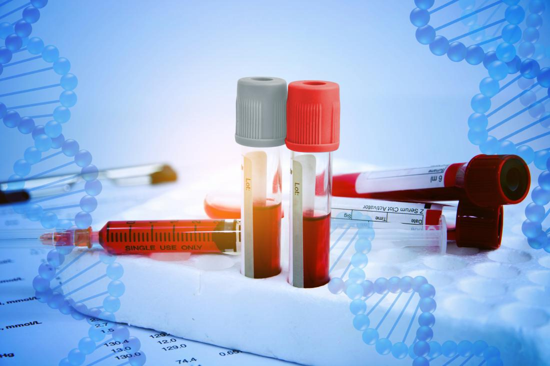 blood samples and DNA