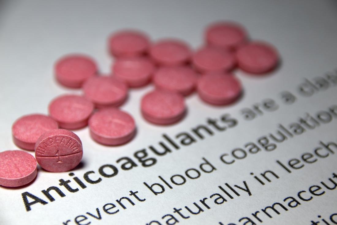 anticoagulant tablets