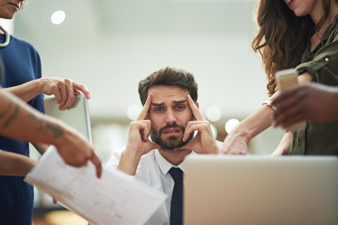 The outcome/effects of Workplace Pressure; mental and physical breakdown