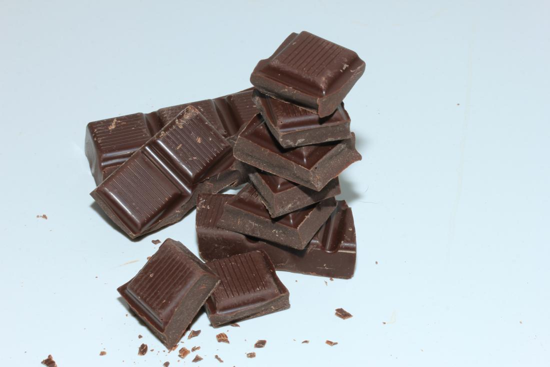 Heart health dark chocolate