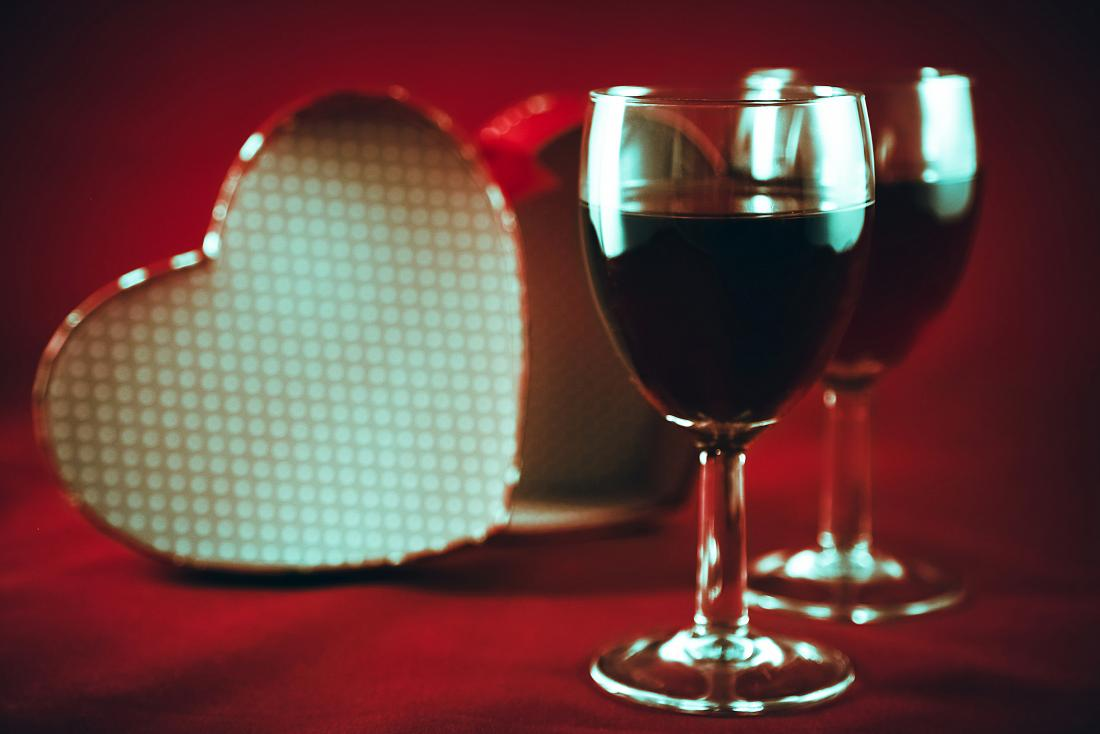 Red wine and heart