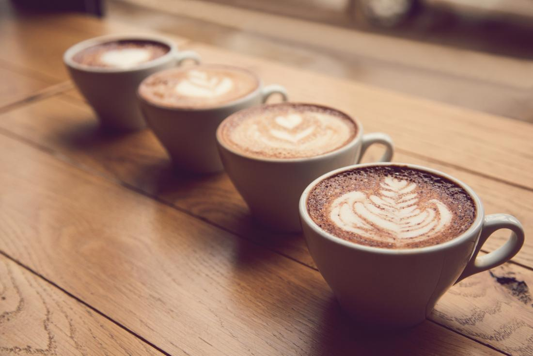 How four cups of coffee might protect the heart
