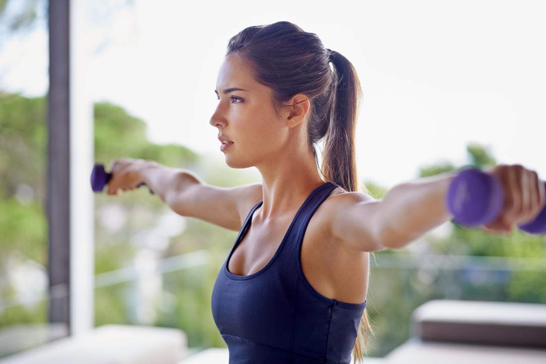 Kadın ağırlık kaldırma egzersizleri