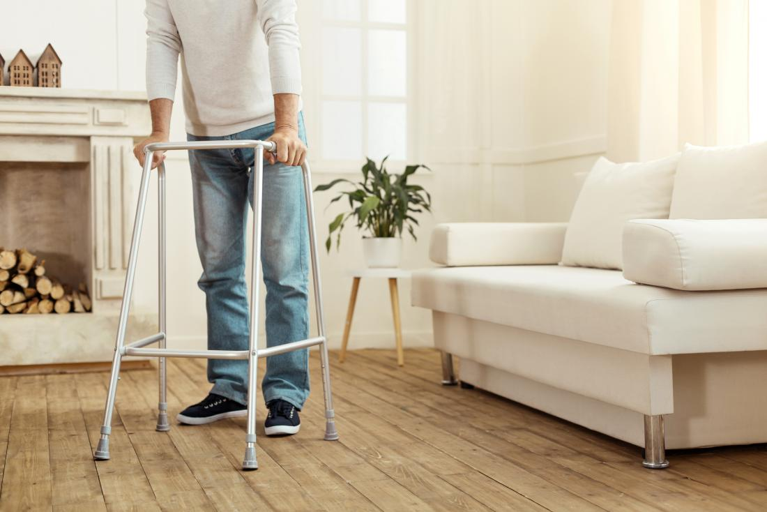 Paralysis breakthrough: Electrical implant helps man walk again