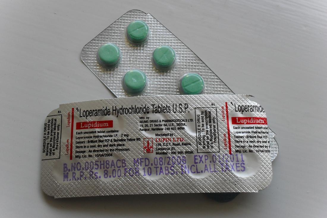 Anti-diarrheal drug treatments for Crohn's disease