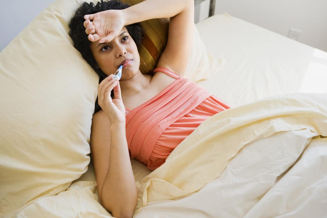 Is fever a sign of pregnancy?