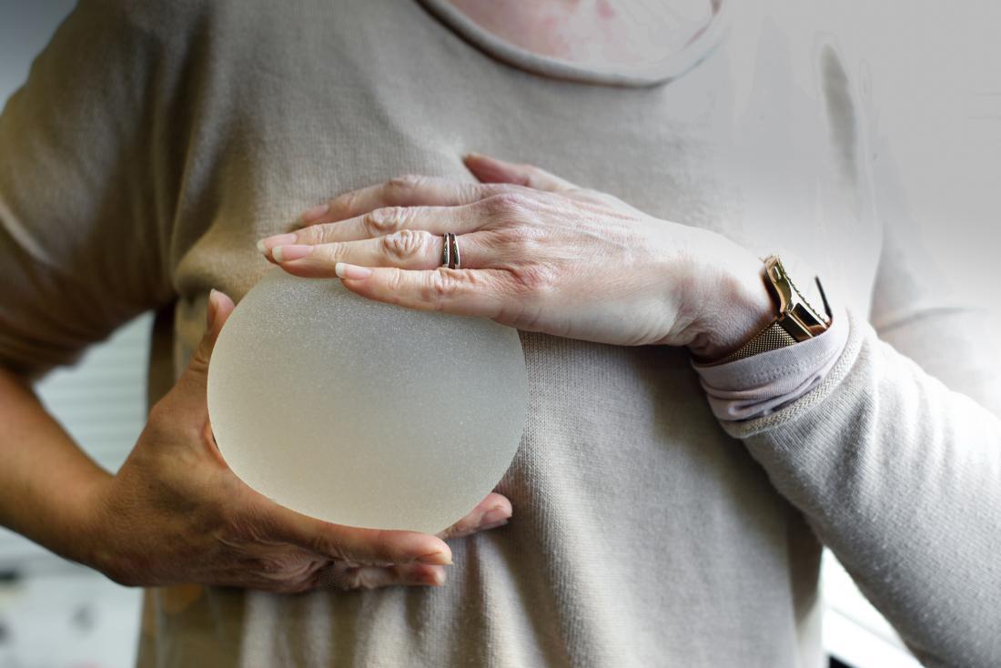 Fake vs natural breast implants