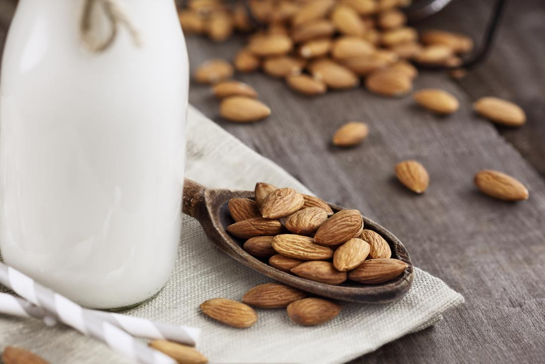 Are almonds and almond milk good for people with diabetes?