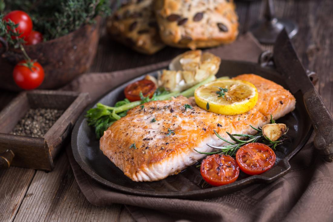 healthy salmon for harsh environments