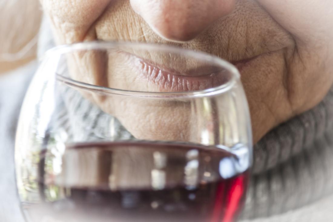 Older adult wine