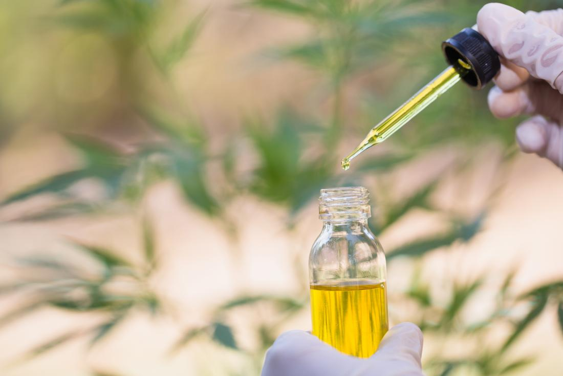 CBD oil which may help with cancer