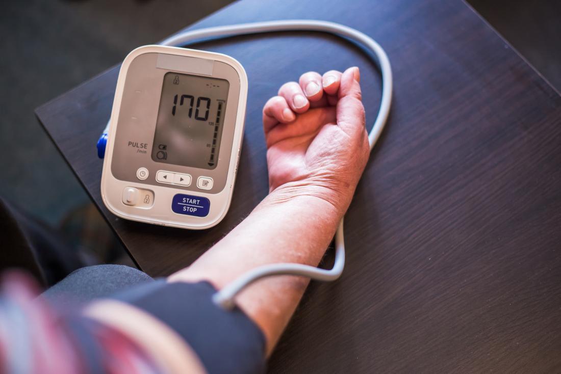 Blood pressure home monitor