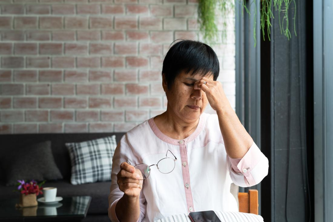 What causes a persistent headache?