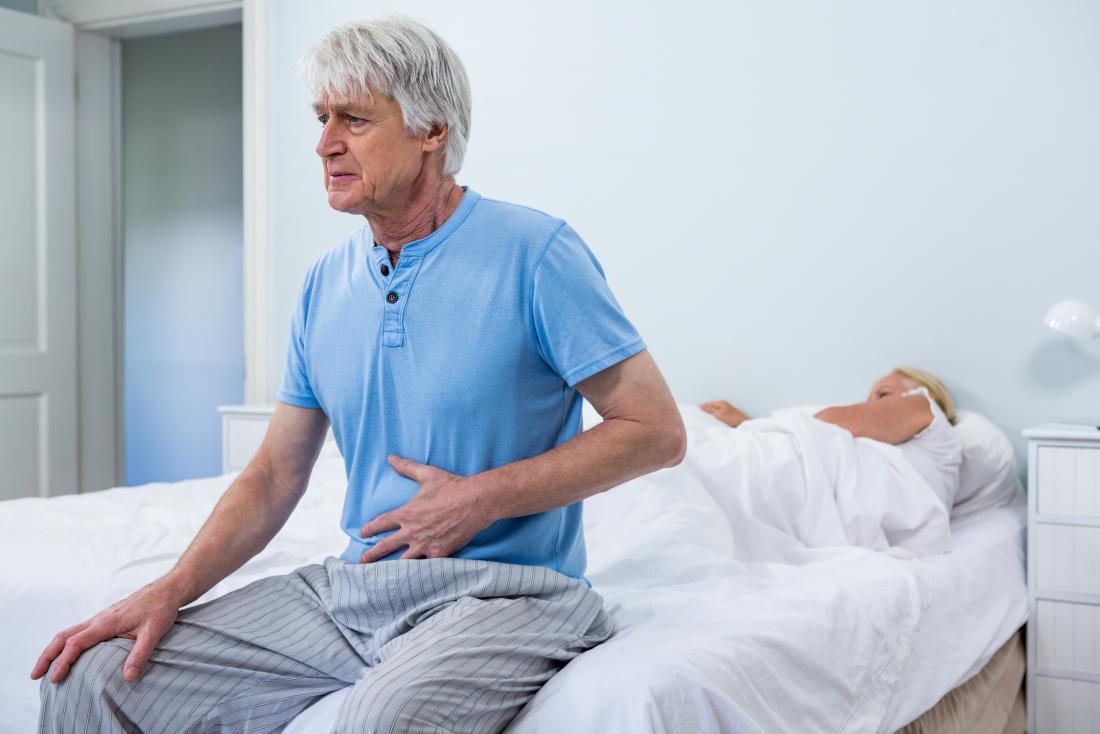 man concerned about diabetic diarrhea