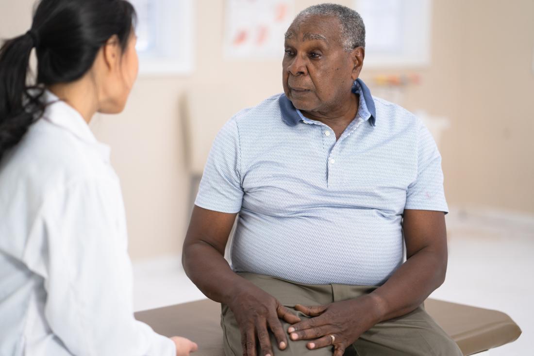 man talking about diabetic nephropathy