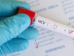How long does hepatitis C live outside the body?