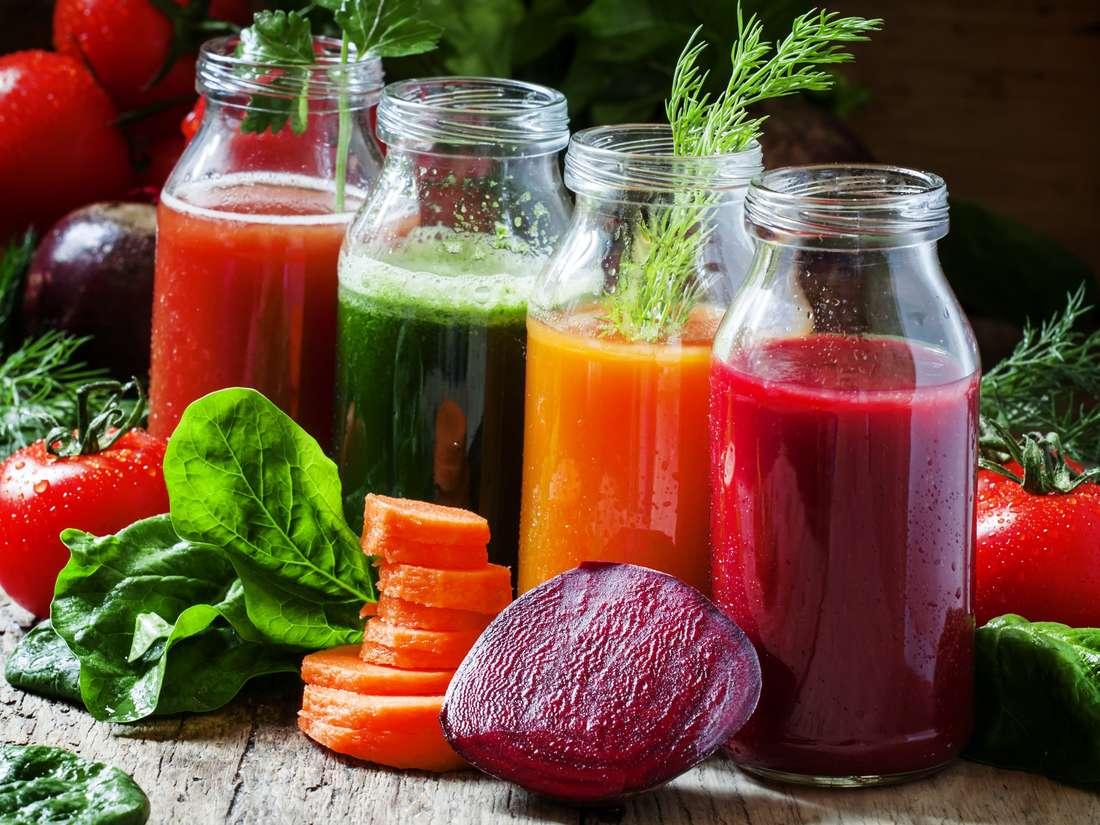 Raw food recipe: V-7 Juice