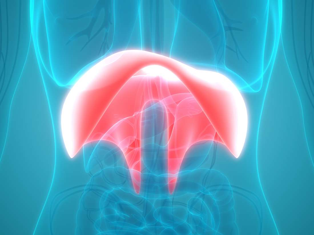 Diaphragm spasm: Symptoms, causes, and treatment