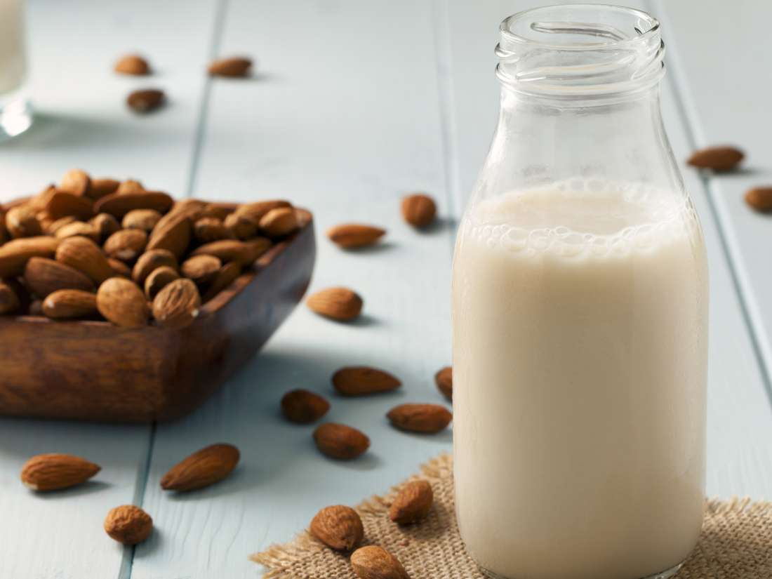 Almond milk for babies: Is it safe?