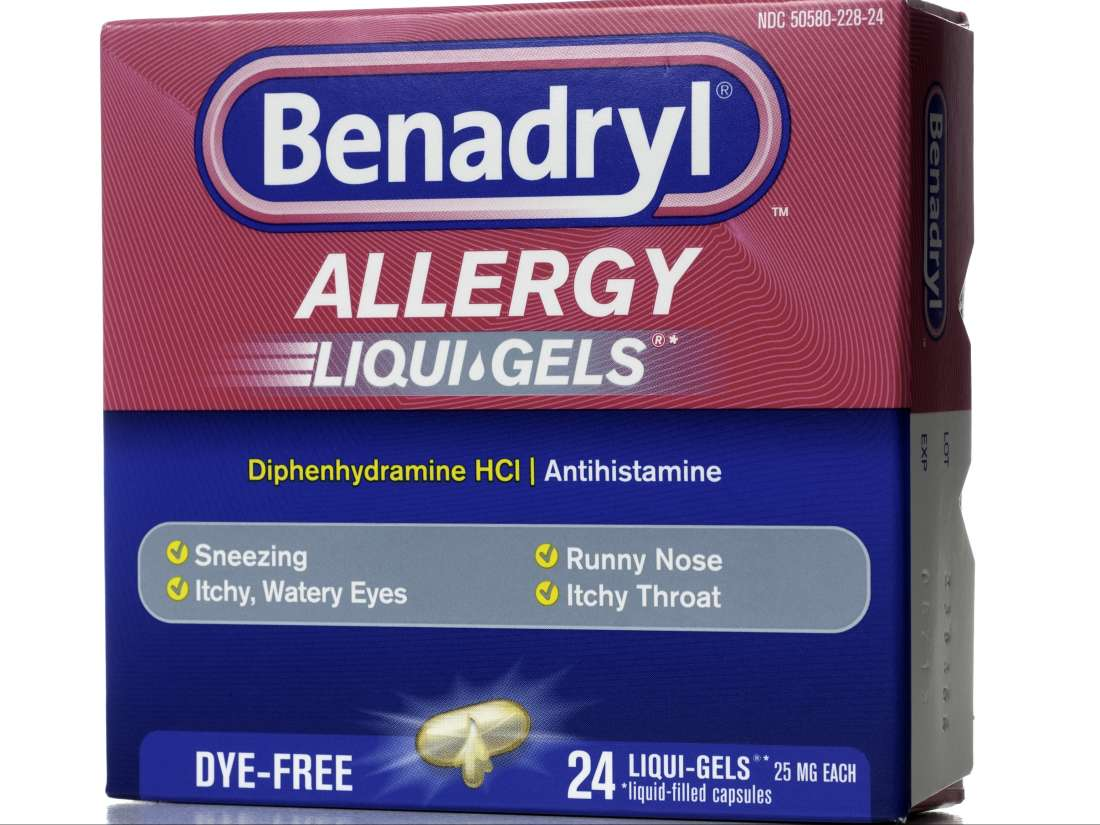 Benadryl: Dosage, side effects, uses, and more