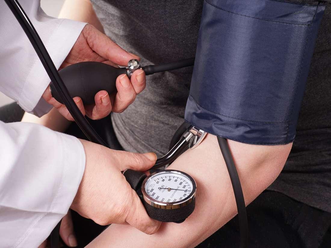 Sin presión arterial diastólica