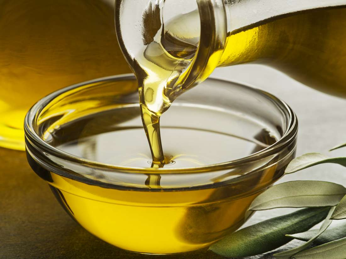 Comparing oils: Olive, coconut, canola, and vegetable oil